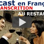 Commander au Restaurant en France