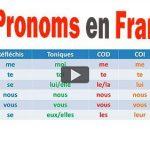 Les Pronoms Français