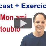 Podcast en français avec transcription + exercice