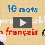 Mots français imprononçables (2)