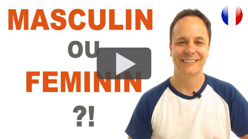 Le genre en français