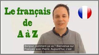 Français de A à Z