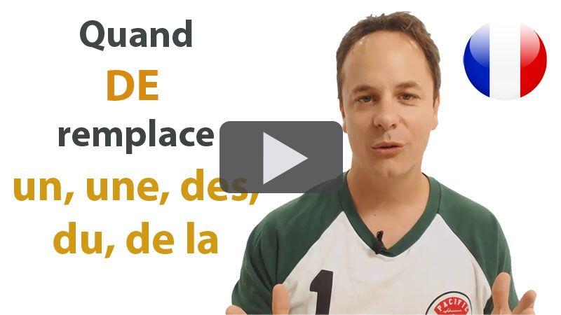 De ou DU en français