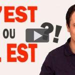 C'EST ou IL EST en Français