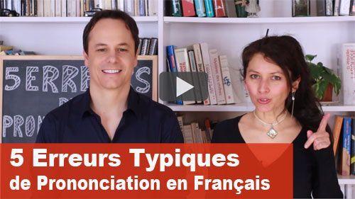prononciation en français
