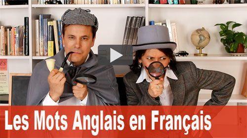 mots anglais en français