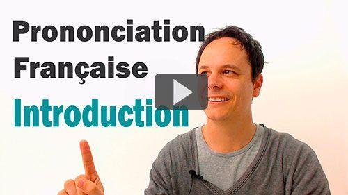 Prononciation Française