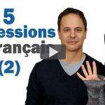 Expressions Indispensables en Français (2)