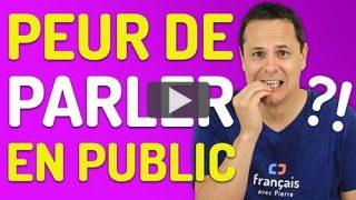 parler en public sans stress
