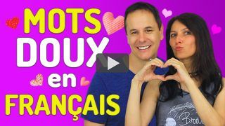 mots doux en français