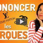 Prononcer les marques françaises