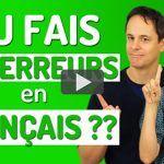 10 Erreurs fréquentes en français
