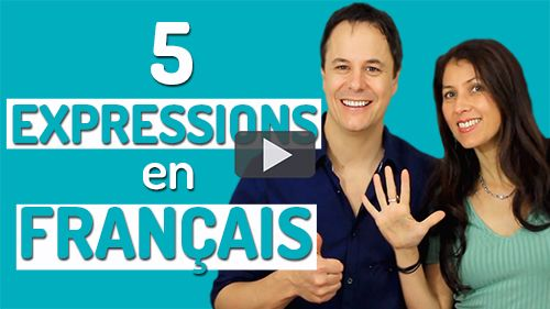 5 expressions en français