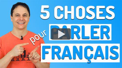 parler français couramment