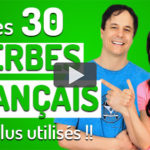 Les 30 verbes en français les plus utilisés