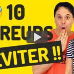 10 Erreurs de Français très Embarrassantes