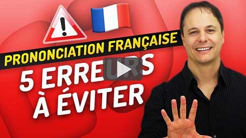 prononciation français