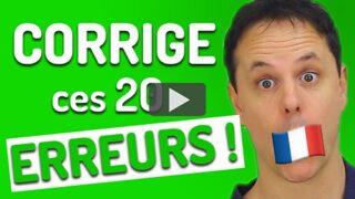 erreurs de français